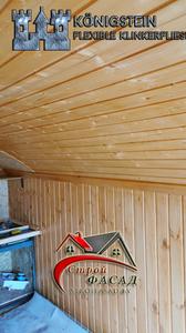 Установка столбов лего кирпича и кованной калитки,обшивка кунга металлосайдингом и штилем (Петришки)