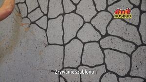 KOSBUD Польша Шаблон типа камень