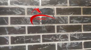 Отделка фасада Гибким клинкером (Раубичи)