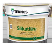 Teknos Финляндская Республика SILIKATFÄRG Cиликатная краска