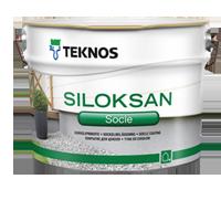 Teknos Финляндская Республика SILOKSAN SOCLE Покрытие для цоколя