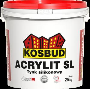 """KOSBUD Польша ACRYLIT-SL – силиконовая штукатурка """"барашек"""""""