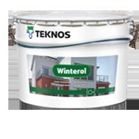Teknos Финляндская Республика WINTEROL Краска для фасадов акрилатная